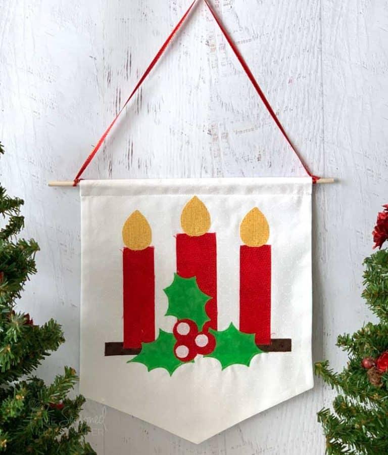 DIY Christmas Banner Tutorial