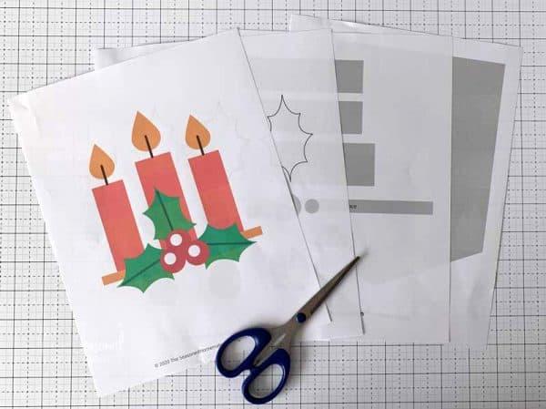design elements with scissors