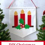 DIY Christmas Banner Tutorial Pin