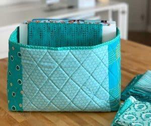 How to Make a Fabric Storage Basket