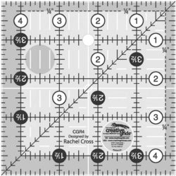"Image of Creative Grids 4.5"" Square Ruler"