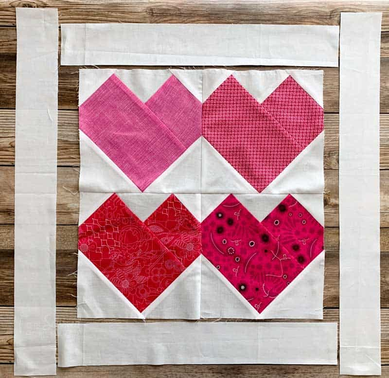 Add borders to quilt