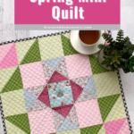 Simple Easter Mini Quilt Pin