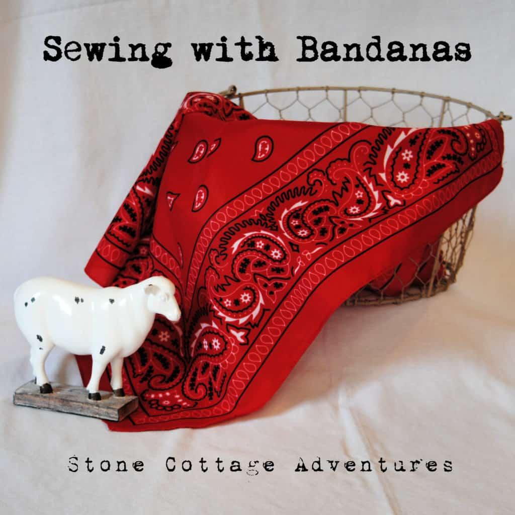 Sewing With Bandanas