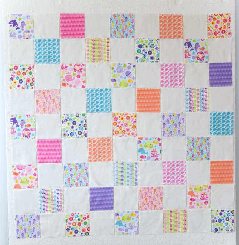 layout charm squares