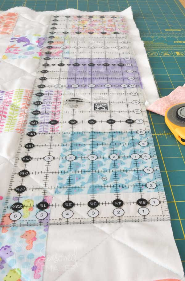 squaring the quilt