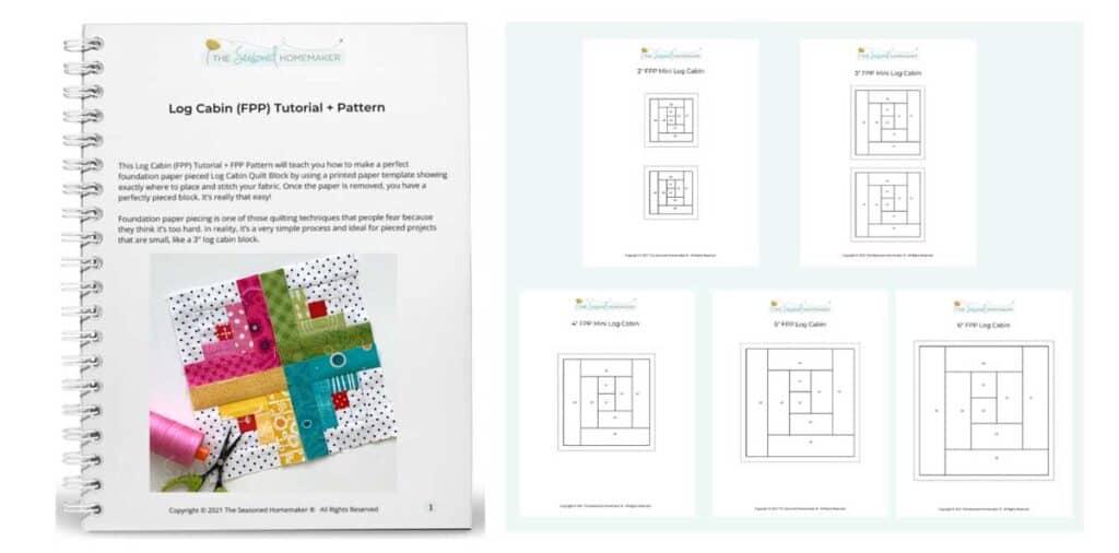 Log Cabin (FPP) Tutorial + Pattern