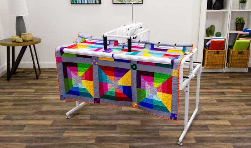 Affordable Longarm Quilting Options Pin